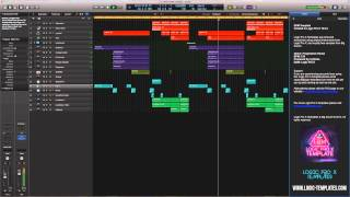 Logic Pro X Template EDM  By Cj Stone