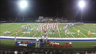 8-25-18 - Dover Marching Tornadoes - Garaway Band Show