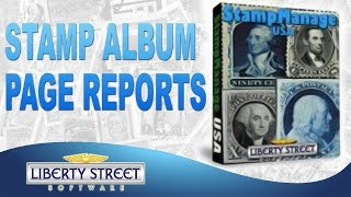 Stamp Album Page Reports Using StampManage