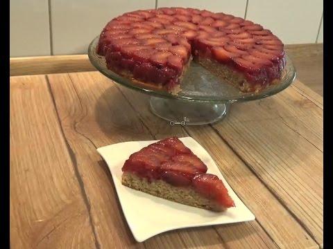Erikli ters yüz kek tarifi
