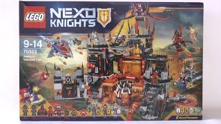 LEGO Nexo Knights 70323 Wulkaniczna kryjówka Jestro