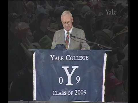 Christopher Buckley Delivers Class Day Speech