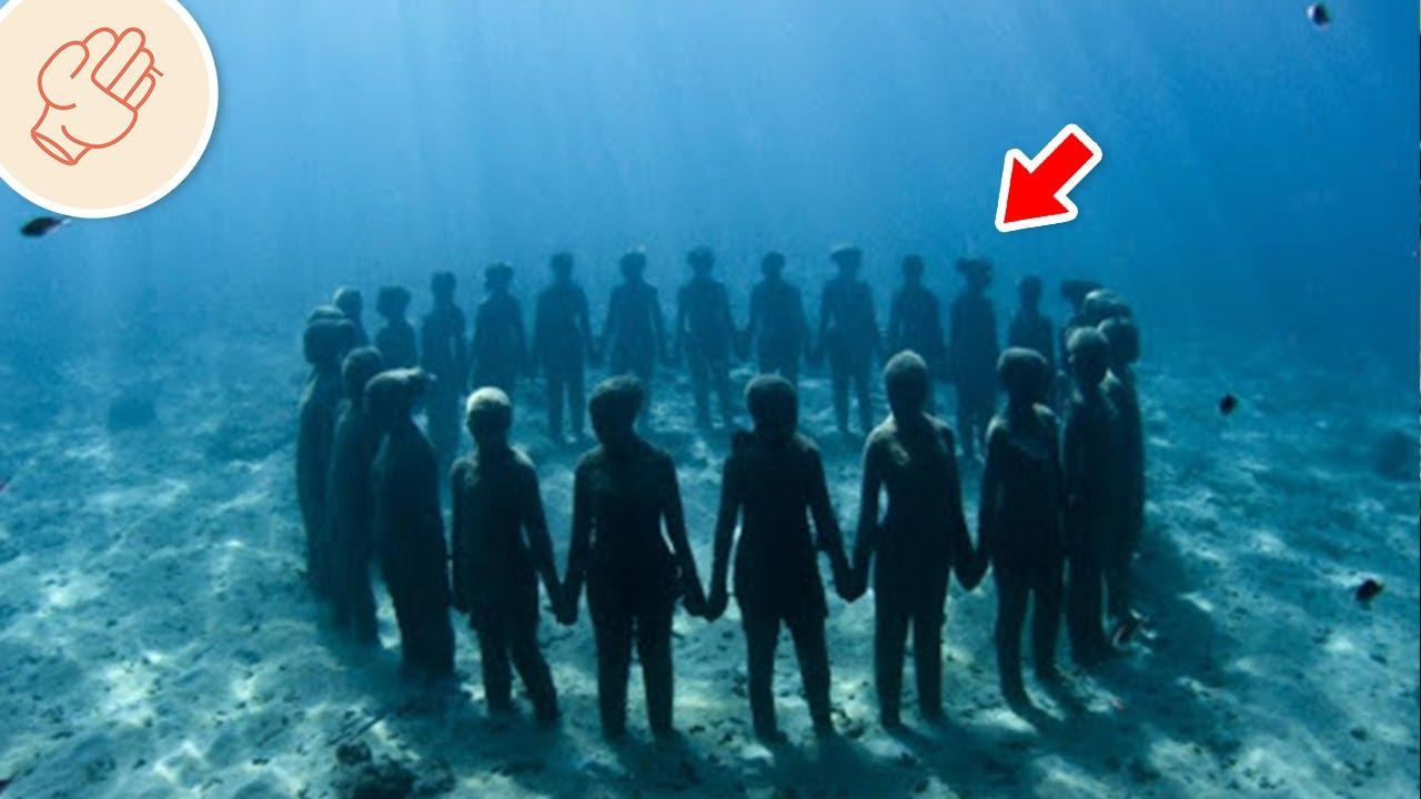 匿藏在海底的神秘之物