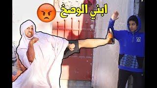 تحشيش # خباثة ابني مايرضه يسبح (وصخ ) #تحشيش عراقي l مصطفى ستار