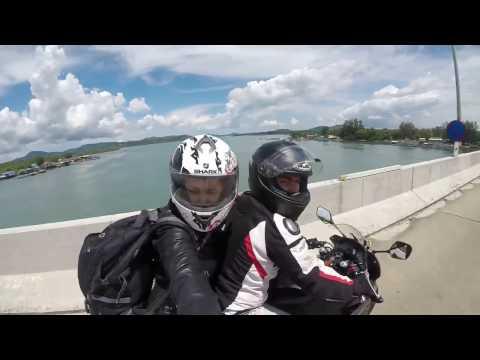 Holiday in Phuket with Honda CBR650F and Hero 5