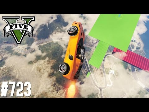NEUE LEVEL ASIAN MIT RAKETENAUTO! (+DOWNLOAD) | GTA 5 - CUSTOM MAP RENNEN