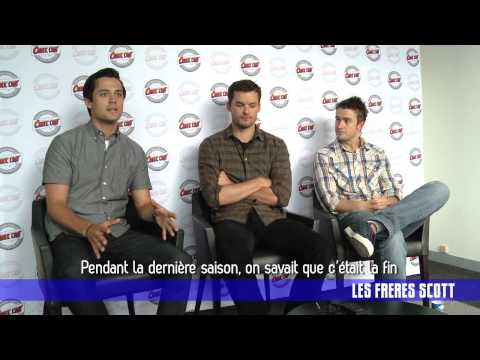 Comic Con 2012   Interview Frères Scott