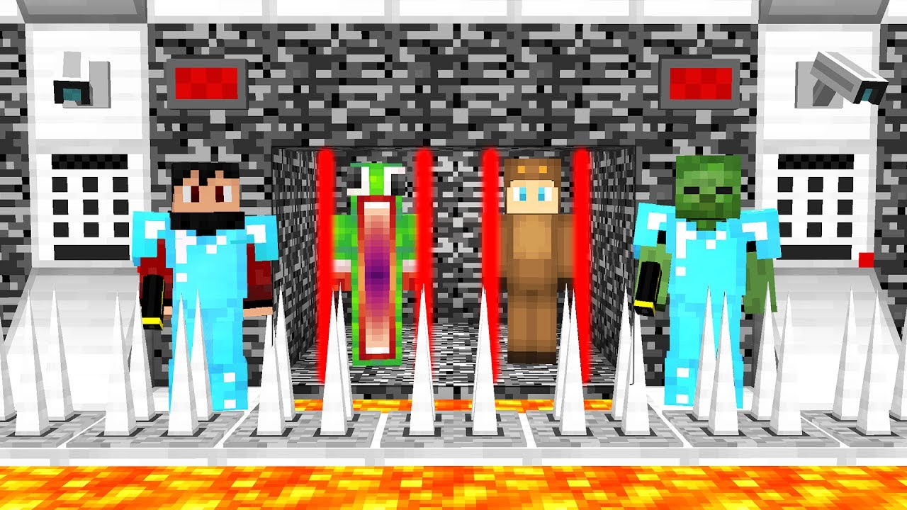 UNSPEAKABLEGAMING AND MOOSECRAFT GET ARRESTED! (Minecraft PRISON ESCAPE)  with RageElixir & AA9