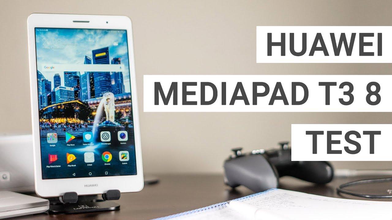 Huawei Mediapad T3 8 Test Wie Gut Ist Das Einsteiger Tablet Deutsch Youtube