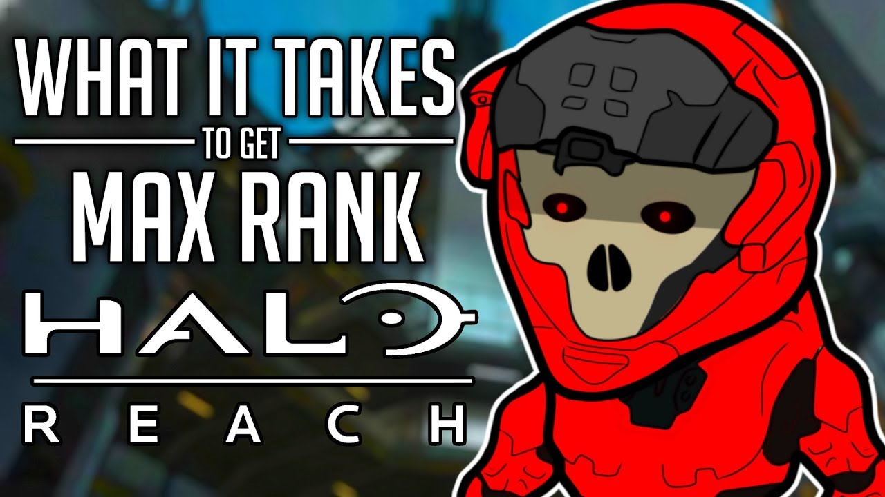 What It Takes To Get Max Rank in Halo Reach OFFLINE