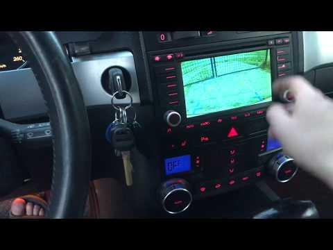 VW Touareg RNS2 And Camera Interface 315 510/ РНС2 Камера