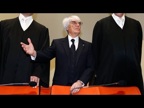 Bernie Ecclestone Arrives In Court To Face Bribery Charges