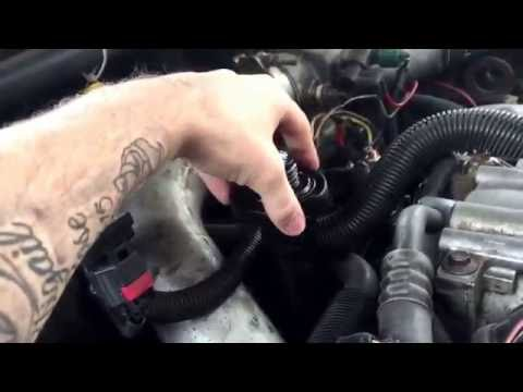 7.3l Powerstroke diesel blow by test