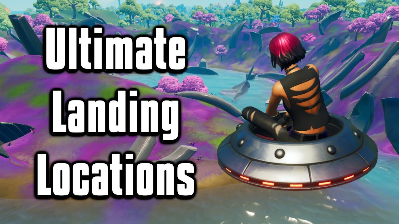 Top 7 Landing Spots For Arena + Cash Cups! - Fortnite Season 7