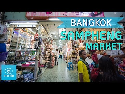 Bangkok Travel Guide - Thai Market - Sampeng Market | Meetrip