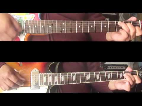 Tutoriales Beatles - Flying - Guitarras