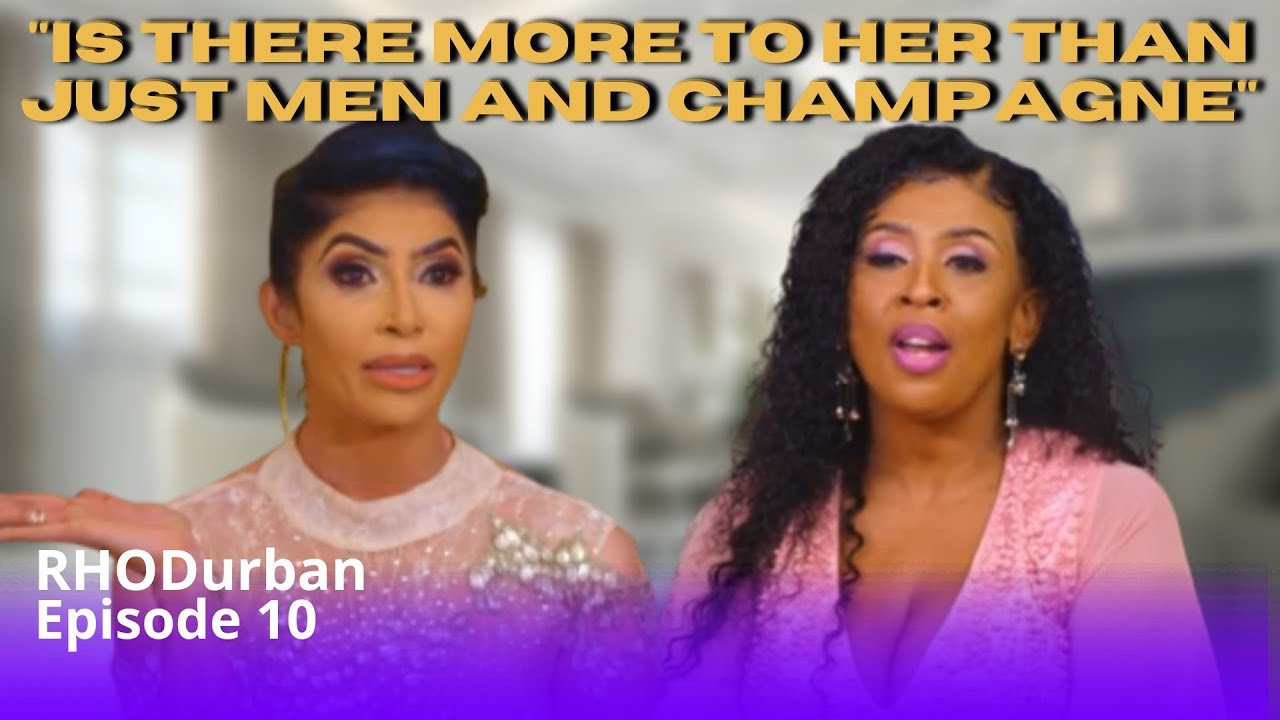The Real Housewives of Durban Episode 10 | Sorisha gets annoyed at Nonku | 1/3 Review
