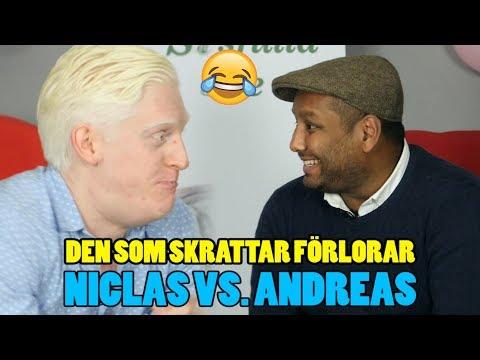 DEN SOM SKRATTAR FÖRLORAR #23 - TORRA SKÄMT OCH ORDVITSAR - NICLAS VS ANDREAS