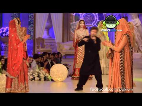 Alamgir's performance at Bridal Couture Week 2012