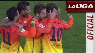 Resumen de Granada CF (1-2) FC Barcelona - HD - Highlights