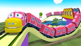 Trains Videos for Kids - Choo Choo Toy Factory Cartoon Animation - Cartoon for Kids