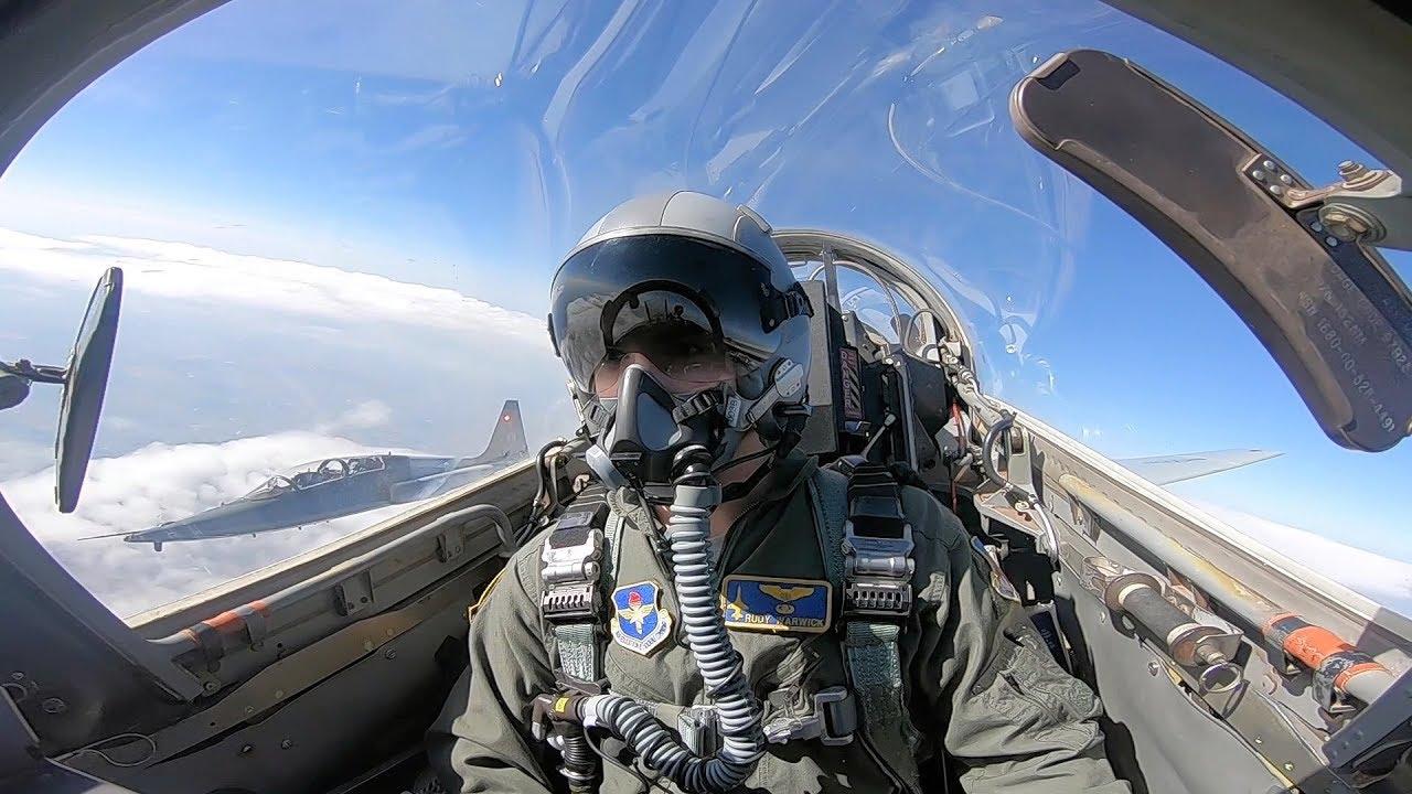 Student Pilots Train In T-38 Talon