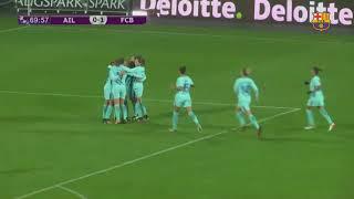 Avaldsnes vs Barça Femenino [0-4][UEFA Champions League Femenina][04/10/2017]