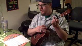 I am born to preach the Gospel - Washington Phillips Cover on Baritone Uke