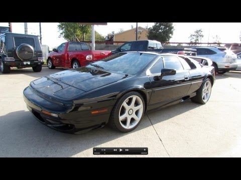 2000 Lotus Esprit V8 Twin Turbo Start Up, Exhaust, And In Depth Review
