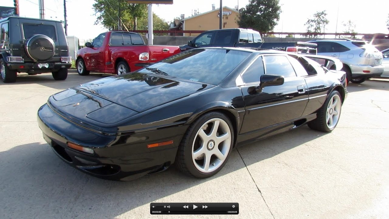 2000 lotus esprit v8 twin turbo start up exhaust and in depth review youtube