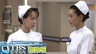 愛子(宮田圭子)は倒れた翌日、迎えに来た家族と共に帰っていく。園絵(中村...
