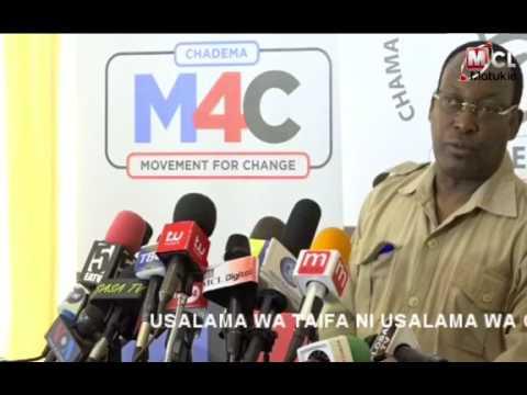 CHAEDEMA: Uchumi wa Tanzania unaporomoka, deni la taifa linakua