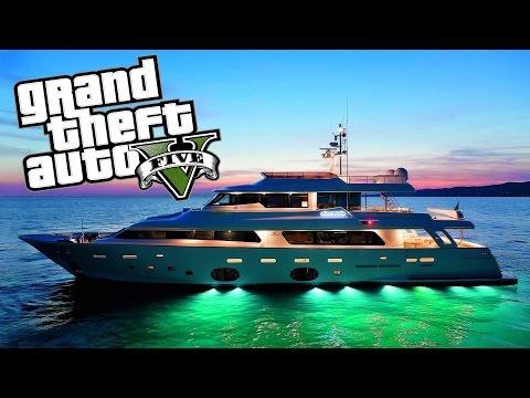 The Yacht Life!!! (GTA V Funny Moments)