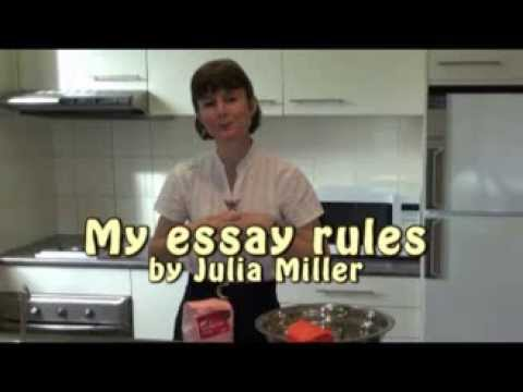 My Essay Rules