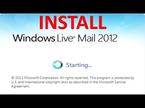 How To Install Windows Live Mail | Default Mail Application