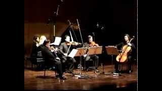 Schumann piano quintett in E flat major, Op.44, 3/4