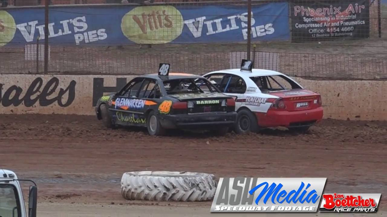 Modified Sedans Heat Epic Racing Carina Speedway Youtube