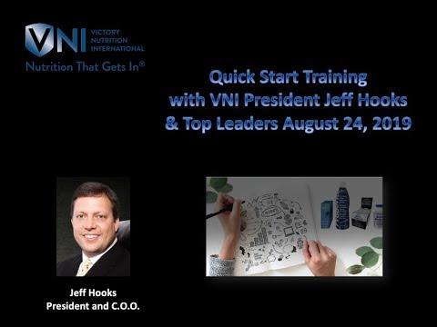 Victory Nutrition Quick Start Training August 24, 2019