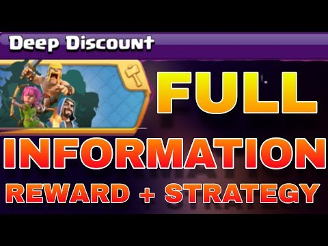 BOOST YOUR ALL TROOPS WITH DEEP DISCOUNT EVENTS IN CLASH OF CLANS