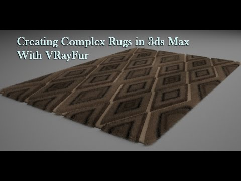 Creating Rugs with VRayFur