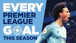 EVERY PREMIER LEAGUE GOAL SEASON 2018/19 | MAN CITY