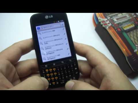 LG C660 Optimus Pro: visão geral