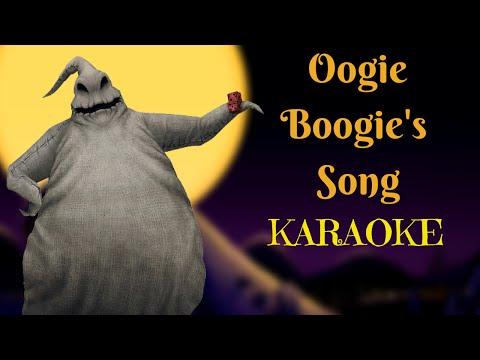 Oogie Boogie's Song - The Nightmare Before Christmas (Karaoke)