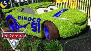 Disney Cars 3 Sneak Peek Cruz Ramirez & Lightning Mcqueen Bio Teaser at Walt Disney World Florida!