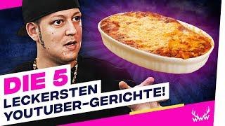 Die 5 LECKERSTEN YouTuber-Gerichte! | TOP 5