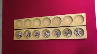 Alagulimane / Pallanguzhi - How to Play? Indian Games