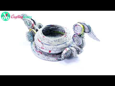 duck-style-candy-container-showpiece-with-newspaper-for-dining/centre-table