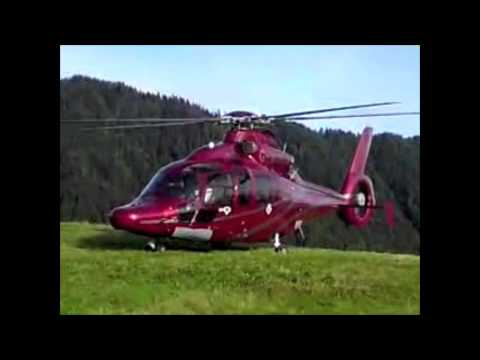 Eurocopter EC-155 take off