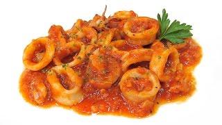 Receta de Calamares en Salsa