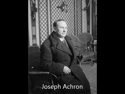 Achron Dance Improvisation (Bronislaw Gimpel, c. 1947)